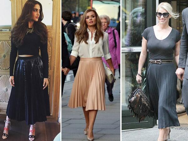 Girly Ways To Wear Midi Skirts This Season