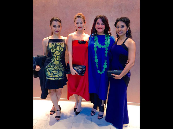 Surveen Chawla & Radhika Apte Glam At TIFF 2015, Parched Premiere