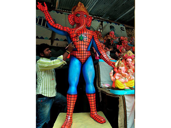 From Selfies To Superheroes Ganesha Idols Are Getting A