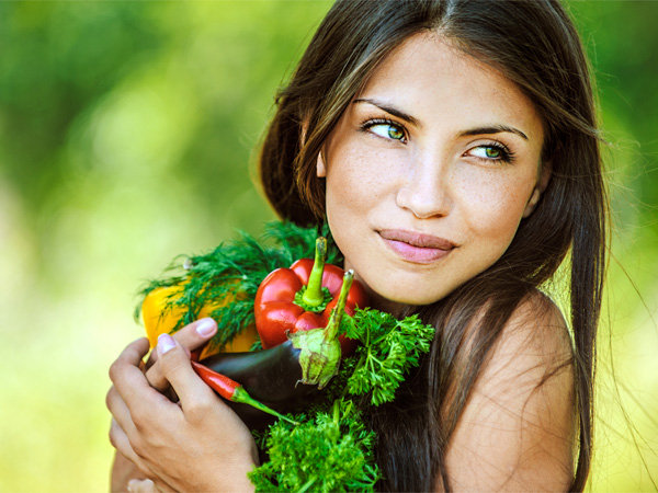 Green Vegetarian Foods That Aid In Weight Loss
