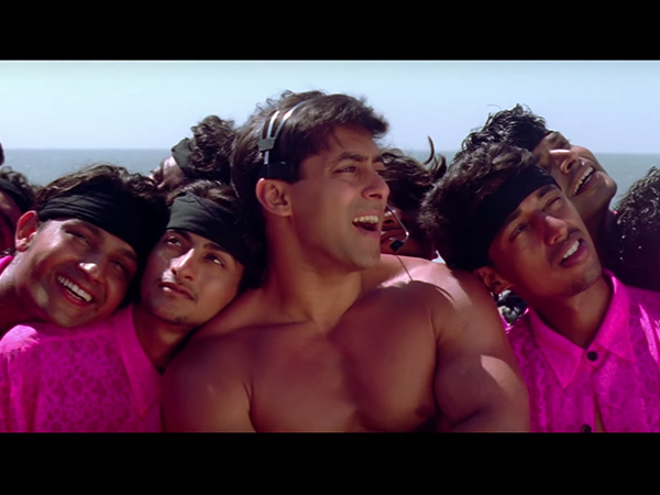 Salman Khan Shirtless Scenes