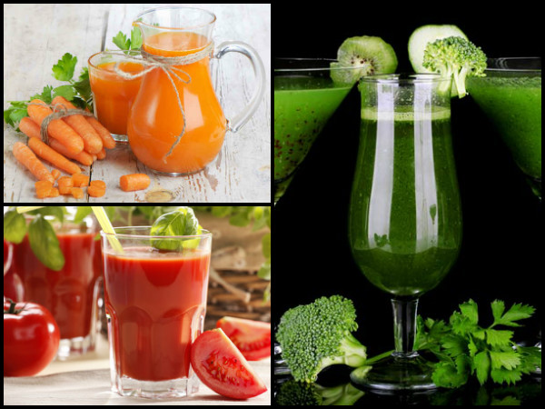6 Vegetable Juices For A Glowing skin!
