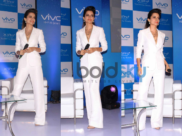 Suit Up Like Kangana Ranaut For An Uber-Chic Look