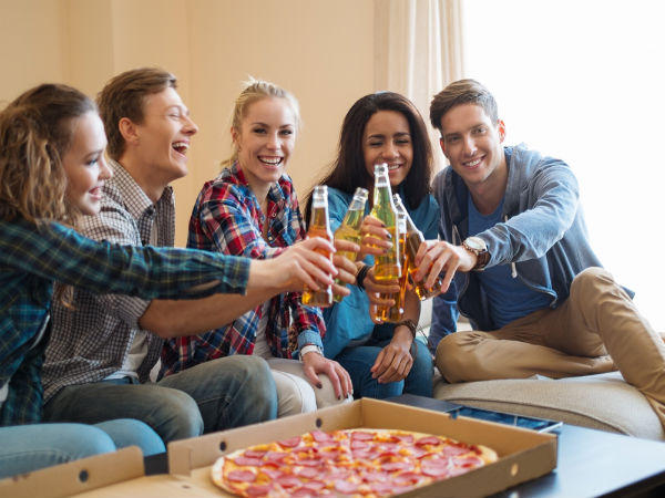 Perks Of Partying At Home | Partying At Home On A Friday Night | House Parties Are Better