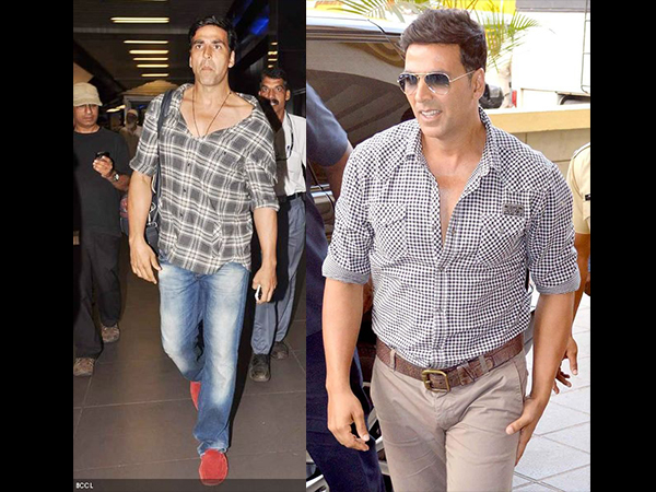 Akshay Kumar's Unfading Love For Denims & Checks