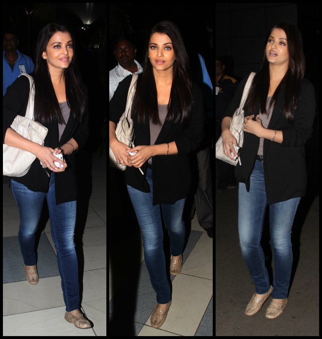 Aishwarya Rai's Stylish Travel Looks