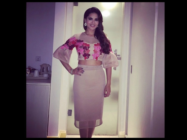 Sunny Leone Loves Crop Tops