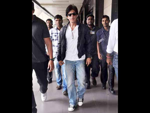 B-Town's Man In Black: Shah Rukh Khan