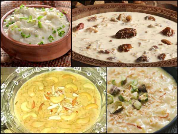 Navratri Special Kheer Recipes
