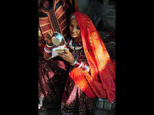 The Colorful Rural Women