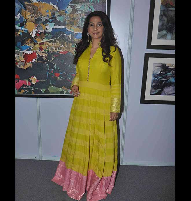 Juhi Chawla In Shades OF Maize