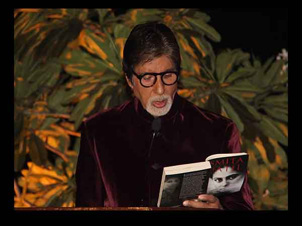 Reading: Mr. Amitabh Bachchan At The Launch Of Smita Patil's Book, A Brief Incandescence
