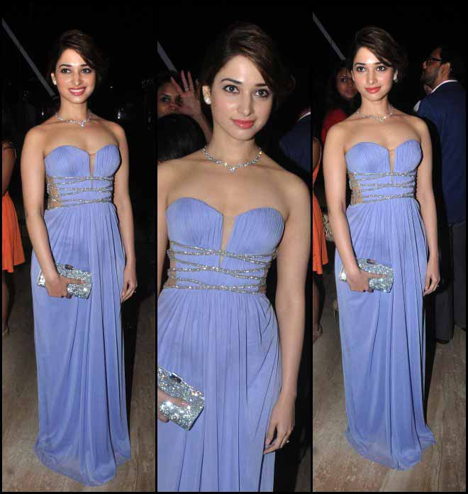 Tamannah Bhatia's Greek Goddess Looks At Swarovski Event