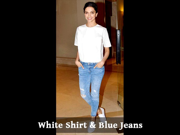 I'm A White Shirt Blue Jeans Kind Of A Person - Deepika Padukone