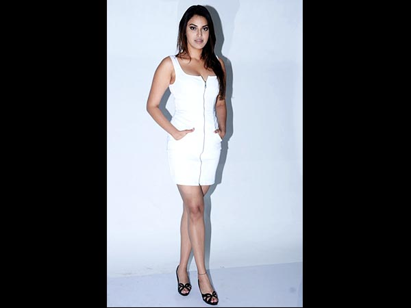 Anushka Ranjan In White For A Photoshoot