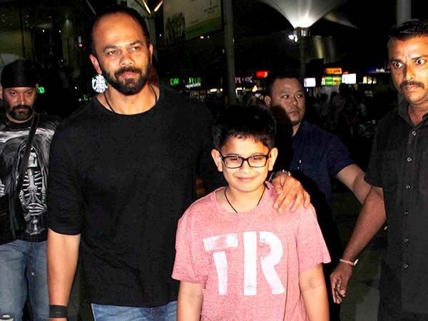 Rohit Shetty's Handsome Travel Looks
