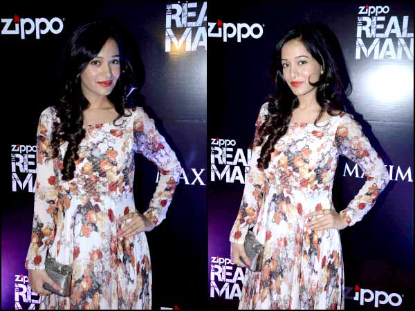 Amrita Rao's Hot Floral Maxi Gown Look