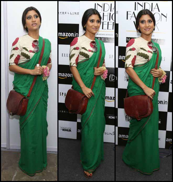 Konkona Sen Sharma At The Sanjay Garg Show