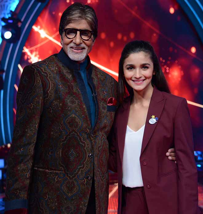Amitabh Bachchan At The First Look Of Aaj Ki Raat Hai Zindagi