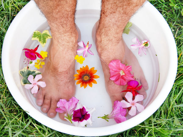 How Does Soaking Feet In Water Help?