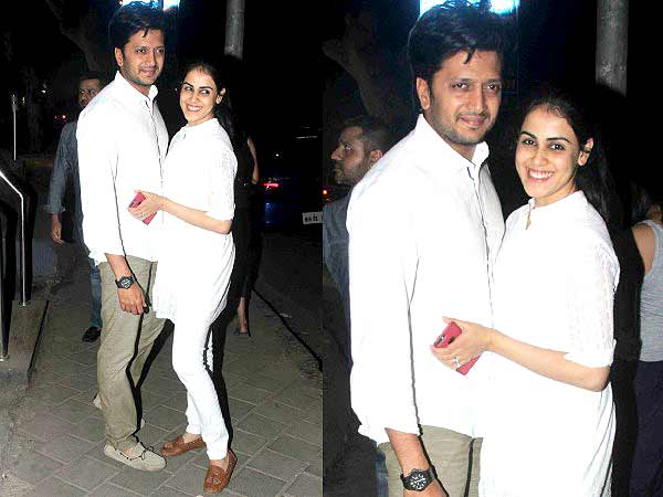 The Loafer Couple: Genelia & Riteish
