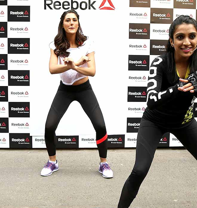 Nargis Fakhri's Gym Fashion