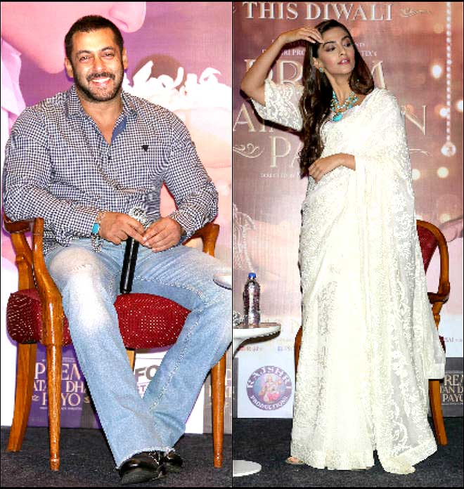 Of Promotions: Salman Khan And Sonam Kapoor