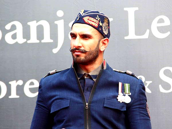 Ranveer Singh In Military Jacket And Cap