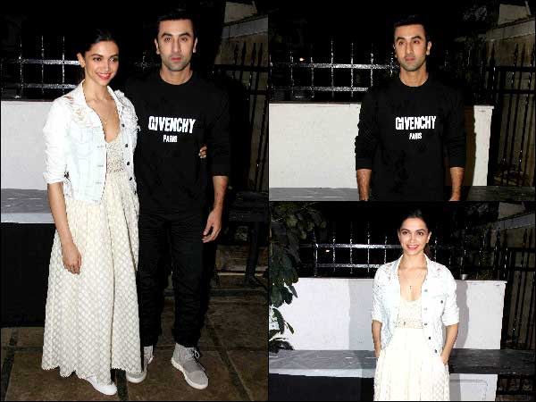 Just Hanging Out: Ranbir And Deepika