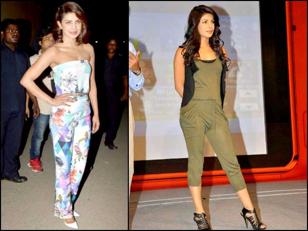 Priyanka Chopra Fancies Jumpsuits