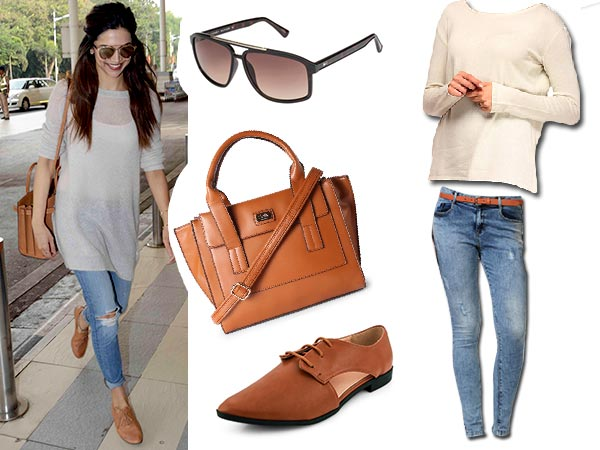 Avail Deepika's Travel Look In 15K