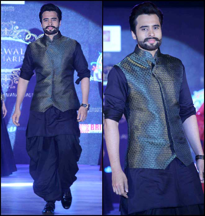 Showstopper: Jackky Bhagnani's Ethnic Runway Look