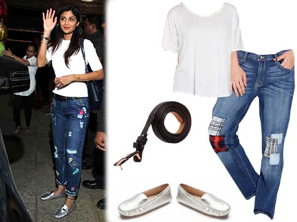 Avail Shilpa Shetty's Entire Casual Look