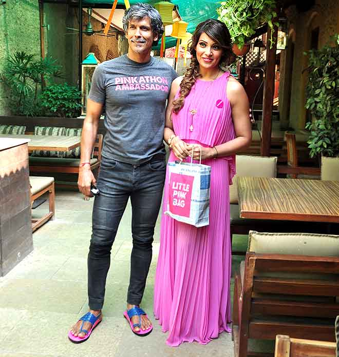Bipasha Basu And Milind Soman