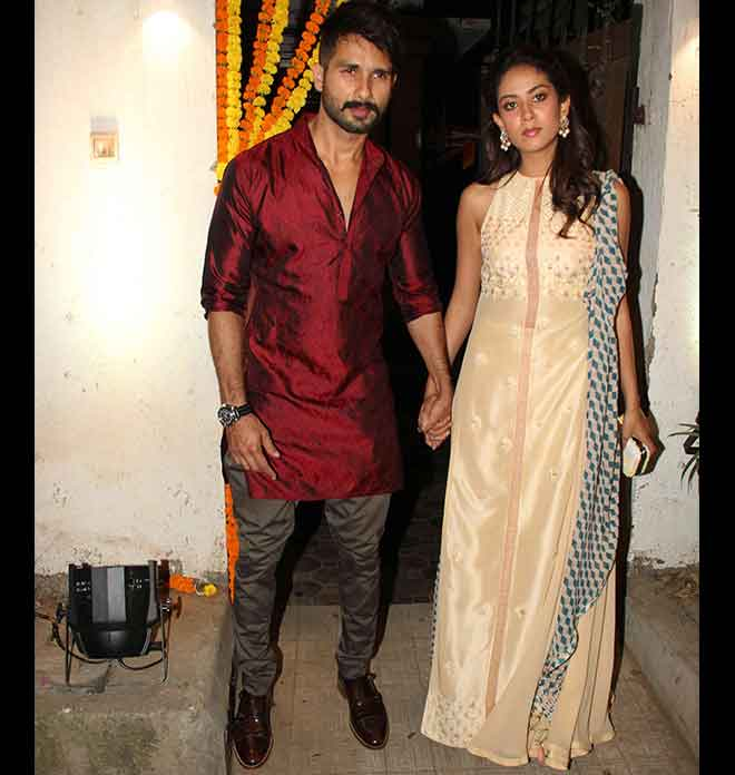 Shahid And Mira In Indianized Version