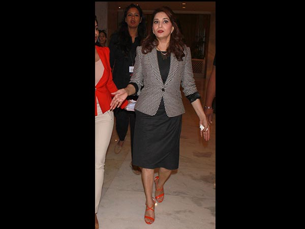 Madhuri's Travel Look Vs Work Look