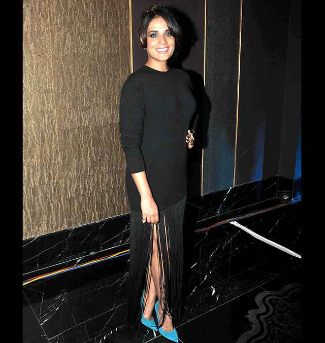 Richa Chaddha's Magical Black Look