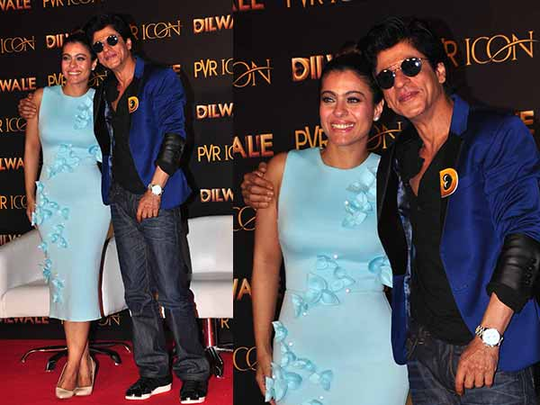 Dilwale Star Cast At The Song Launch