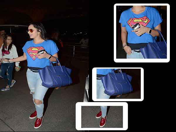 Sania Mirza spotted at the airport