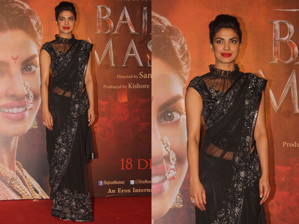 Priyanka at PVR cinemas for Bajirao Mastani promotions