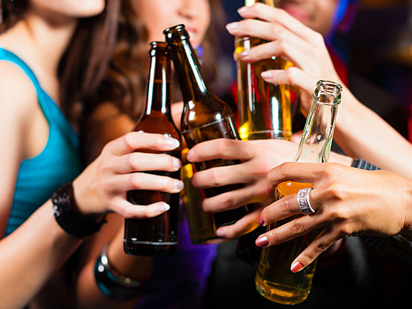 Alcohol And Breast Cancer- Drinking Women