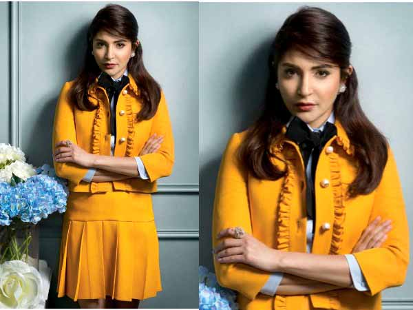 Anushka Sharma in two piece  suit