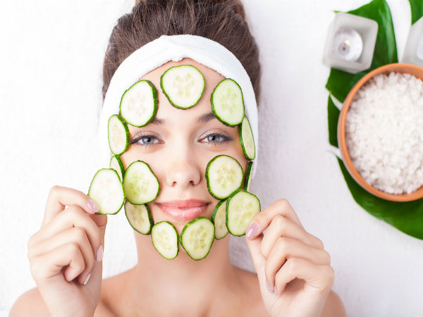 Image result for cucumber on face