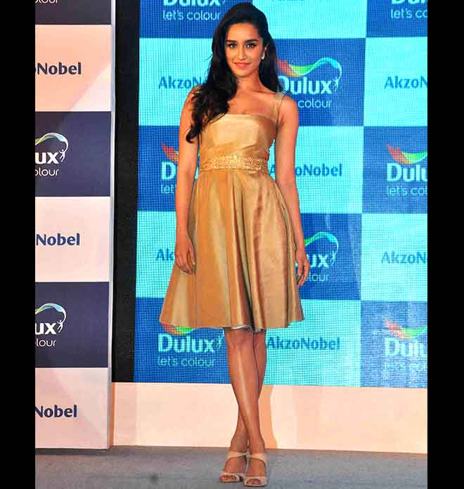 Shraddha Kapoor in Monarch Gold