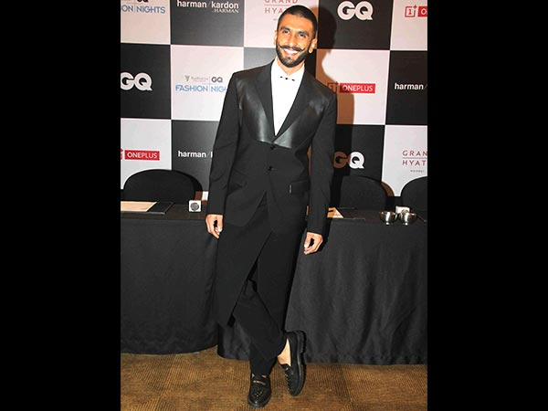 Ranveer Singh at GQ Nights 2015