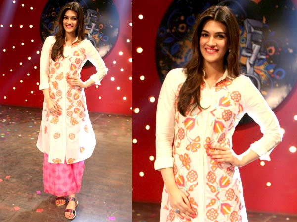 Kriti Sanon at the Dilwale promotions