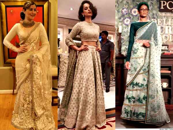 Beach wedding outfits by Sabyasachi