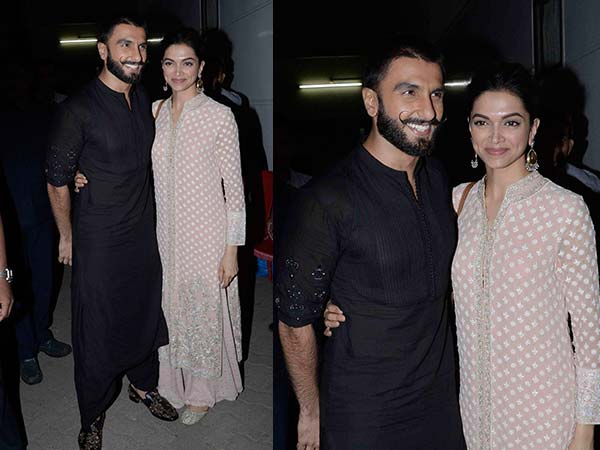 Ranveer and Deepika at the promotions of Bajirao mastani