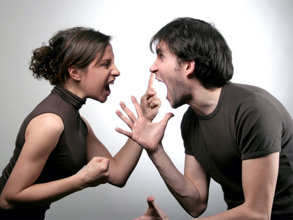 Argue With Your Wife- Fighting Couple