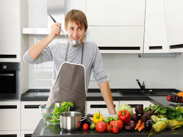 What If Your Husband Doesn't Help With Housework-Dinner